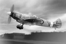 The Supermarine Spitfire - 121 were made in Swindon