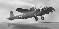 Stirling Bomber - built in Swindon from Autumn 1942 to Spring 1943