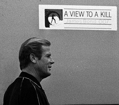 Roger Moore in Swindon