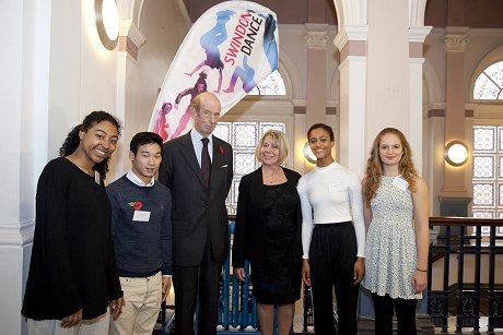 The Duke of Kent at Swindon Dance