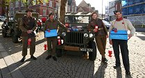 Poppy Appeal Fundraising In Swindon Town Centre