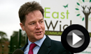 Nick Clegg in Swindon