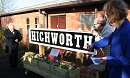 Return Ticket For Highworth Station Sign