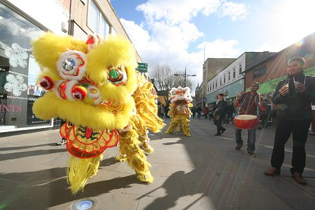 Chinese New Year in Swindon