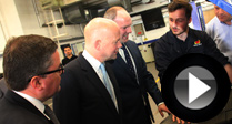 Hague Visit Recognises Apprentice Success