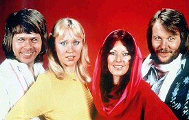 ABBA: the superstars who took a chance on Swindon