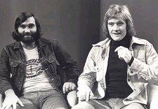 George Best with Rodney Marsh