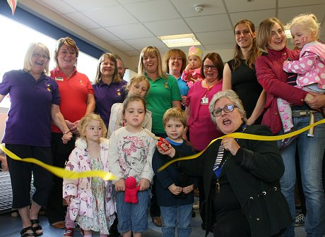 Highworth Pre-School Yellow Room Opening