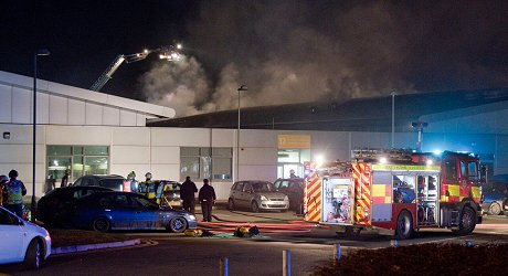 Swindon College Fire