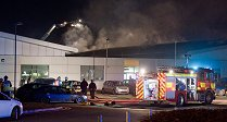 Swindon College on Fire