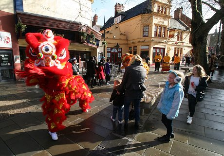 Chinese New Year in Swindon 2016