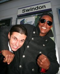 Jermaine Jackson in Swindon