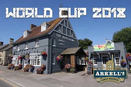 The Kingsdown pub Swindon, World Cup 2018