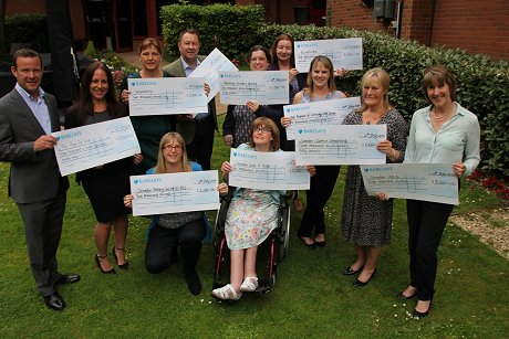 Swindon Charity Ball Cheque Presentation