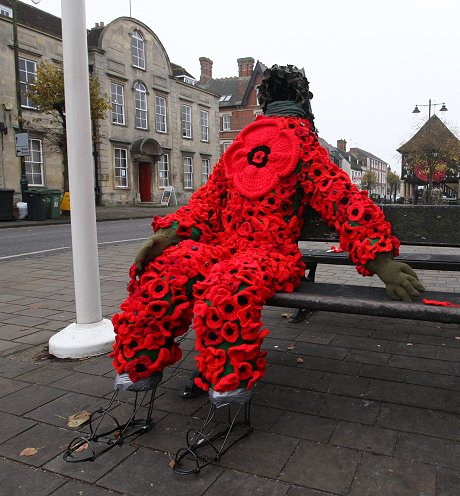 Royal Wootton Bassett Poppy Man