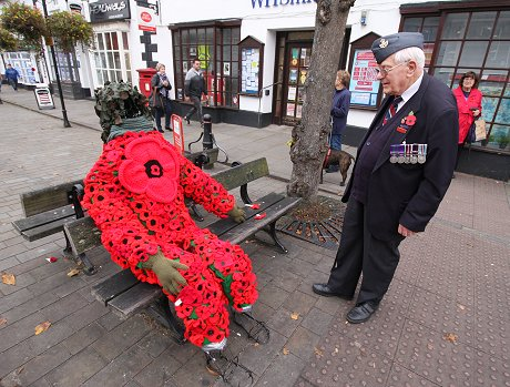 Royal Wootton Bassett Poppy Tribute
