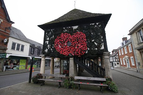 Wootton Bassett Town Hall Poppy Appeal