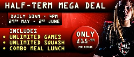 laserquest mega deal