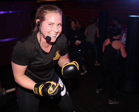 Laura Freyne at SN1 Fit Fight Klub Swindon