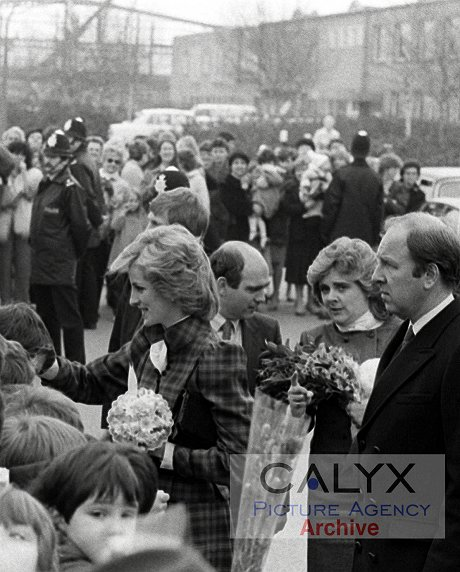 Diana, Princess of Wales in Swindon