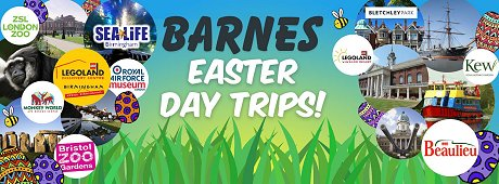 Barnes Caches Swindon Easter Trips