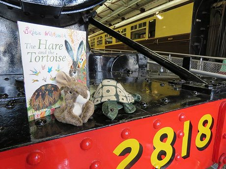 Easter at Steam museum, Swindon