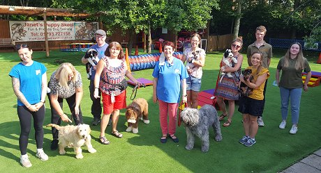 Classes at Janet's Puppy Skool