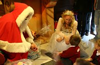 Santa's Grotto in the Brunel Centre Swindon