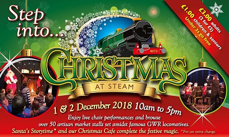 Christmas at Steam Swindon