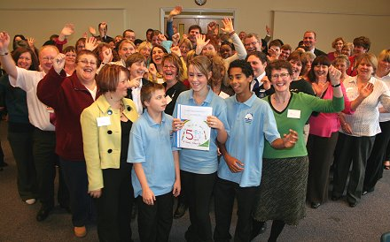 Members of the Swindon Children's Fund who have been involved in five years of its successes