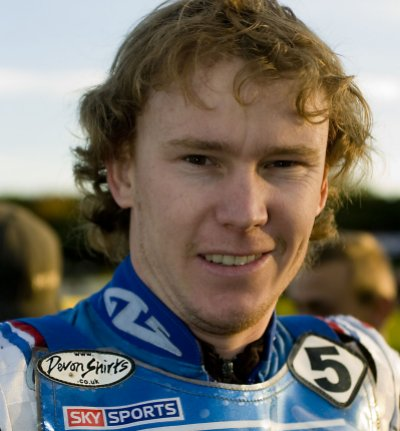 Swindon Speedway's new signing for 2008, Travis McGowan