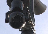 Talking CCTV Camera at the Railway Villiage