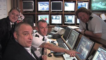 Talking CCTV team