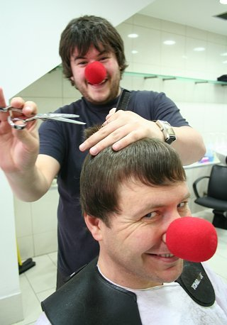 Red Nose Day Toni and Guy