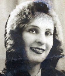 Swindon's Olive Archer in her younger days
