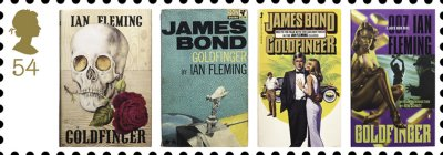 Goldfinger, written by Swindon resident Ian Fleming, who is buried near Swindon in Sevenhampton