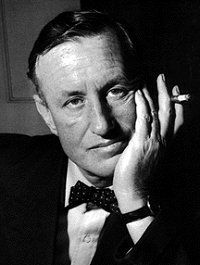 Bond creator Ian Fleming, who is buried near Swindon