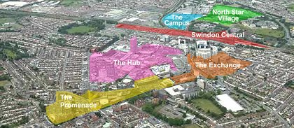 regeneration sites in swindon