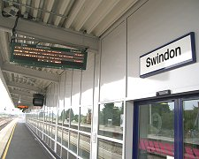 Train station in Swindon