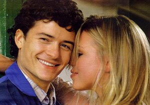 Orlando Bloom and Billie Piper