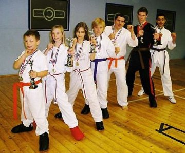 British Chapions from Swindon Martial Arts School