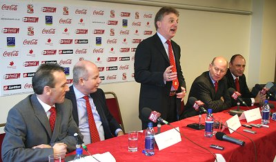 New owners at Swindon Town Football Club