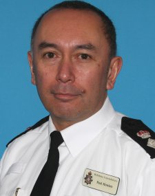 Paul Howlett, new divisional commander for Swindon police