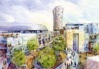 Artist impression of the Regeneration