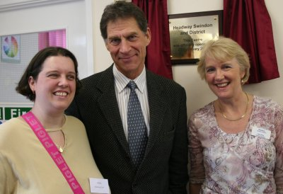 Swindon's Headway clinic, opened by Casualty's Simon MacCorkindale