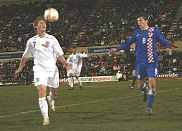 England Under 19s player James Henry plays at the Country Ground in Swindon