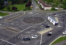 Magic Roundabout in Swindon