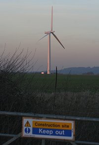 Westhill Farm Wind Farm, Swindon