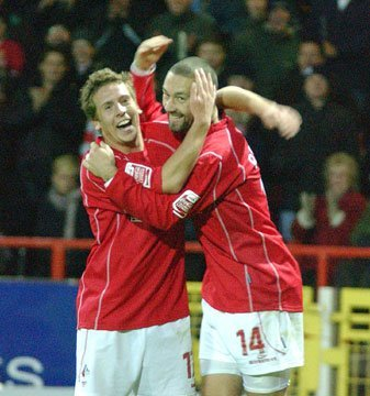 Brian Howard and Christian Roberts, Swindon Town