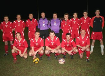 Swindon Town staff have the winning combination